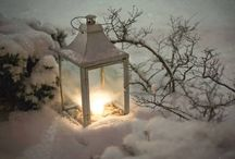 Winter on the porch