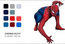 superhero colours