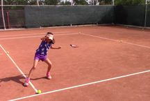 Tennis Instruction / Tennis instruction for kids, beginning and intermediate level players.