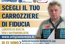 """Carrozzeria Trasparente / """"Scegli il tuo carrozziere di fiducia"""" """"Libertà di scelta per l'automobilista""""   www.artigianiarezzo.it"""