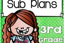Subs! / Having a substitute teacher can be stressful, but it doesn't need to be! This board is full of great ideas, resources, FREE downloads, sub tub ideas, thank yous, and much more! Use it for your preschool, Kindergarten, 1st, 2nd, 3rd, 4th, 5th, or 6th grade classroom.