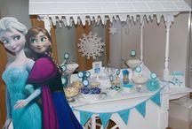 Disney frozen theme party