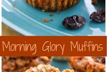 Muffins / Easier and less annoying than cookies