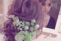 ウエディング♡ヘアスタイル