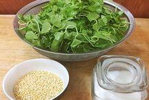 Cách làm nước ép rau má