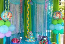 Ocean party theme