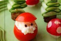Noel deco et repas