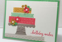 Stampin' Up!- Build A Birthday