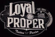 Loyal and Proper Tattoo-Piercing τηλ: 2114098400 / Tattoo parlor Νεο Ηράκλειο