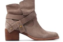Boots - Block Heel Ankle Boots