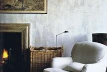 plaster/rustic/vintage walls