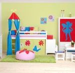 Butterfly Children Beds / A Beautiful Universe for Your Childrens Bedroom. Children Furniture e.g. with Bunk bed, Mid high bed, Half high bed, High bed, Conopy bed and Sofabed made in the Highest Quality from Hoppekids.