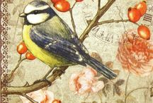 Beautiful images and decoupage ideas