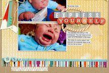 baby scrap book
