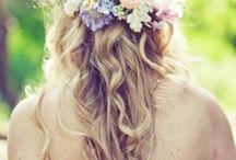 Flower Crowns / Fabulous flower crowns at weddings