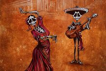 celebtating the day of the dead