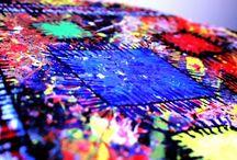 My Paintings & Crafts / Quanto amo rilassarmi oppure sfogarmi colorando e pasticciando con i materiali... la mia vita viene trasferita su piccole tele, grandi pannelli, fogli di carta e cartone, giornali e ritagli di stoffa... la mia passione per i colori non conosce frontiere e, soprattutto, non rispetta le regole!  Melissa.