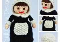 Toy Knitting Patterns on Etsy / http://www.edithgracedesigns.com