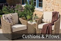 Custom Cushions and Pillows / Whether you're looking for new Sunbrella cushions or replacement cushions, we custom fabricate all of our cushions, pillows, and drapes in house and can work from either a template that you send us or by the sizes your provide. Window bench cushions and chaise lounge cushions are our specialty but we offer a wide variety of other cushions for both indoor and outdoor applications. Visit our Custom Cushion page for inspiration.