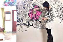 pintura para decorar paredes