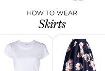 Long Skirts Styles