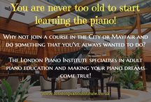 You are never too old to play the piano!