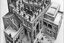 Escher _ illusionist ○◇□
