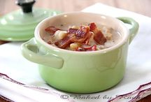 Food:  Soups, Chilis, and Stews / by Kecia Beltz