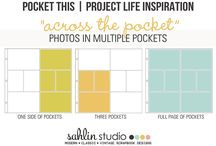 Project Life: Techniques / Highlighting and Spotlight Techniques, Trends, Tips and Tricks for Project Life & Pocket Scrapbooking.