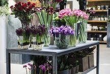 Kukkakaupan somistus ja esillelaitto