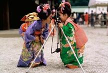 Childrens playing arround the world