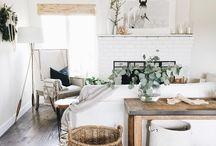 White boho room