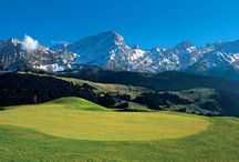 Golf courses Switzerland, golfbaan Zwitserland / Golf courses Switzerland, golfbaan Zwitserland