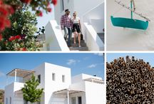 Greek island wedding / A summer wedding in Kimolos island