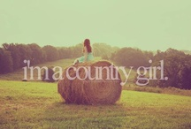 Cause I'm A Country Girl<3 / by Virginia Harvey
