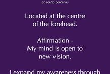 6th Third Eye Chakra / Ajna (to perceive)
