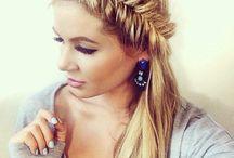Summer: beach hair inspiration / great beach hair!