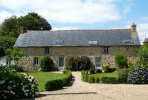 Holiday cottage - Gîte - Brittany - France. Sleeps seven, set in rural France; Easy access to medieval towns and beaches.
