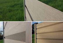 La clôture LORYZA® / L'esthétique unique et la couleur proche du bois de la clôture LORYZA procure un aspect chaleureux à vos jardins.