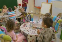 art with kids 3-5 y.o.