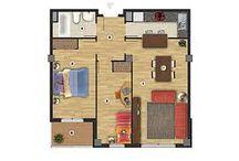 Amueblar un piso (Jacopo Malenotti,Viola Pelati,Miriam Rossi) / Amueblar un piso: cocina,salón,baño,dos dormitorios
