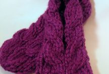 Knitting patternsslippers