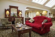 Fitzgeralds Woodlands House Hotel / interior of the Fitzgerald's Woodlands House Hotel in Adare Co. Limerick Ireland
