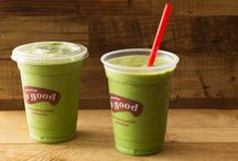 "Smoothies, Shakes, & Juices / Handcrafted ""real"" beverages from b.good"