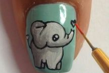 Nailart, animal