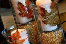 Őszi dekoráció kreatív
