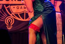 World Burlesque Games 2015 / We are so proud of our girls! Lady Vivian and Catrice Cat made it through the European semifinals in Edinburgh to the world finals of the International Newcomer Crown in London!