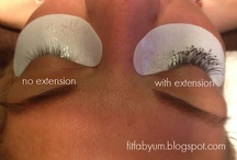 Eyelash Extensions / by Anna Flores