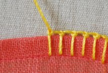Diff blanket handstitch