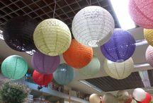 Lanternas Japonesas / Veja mais ideias no Facebook  e no Blog do Fika a Dika